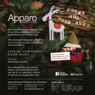 Dine and Stay at the Apparo
