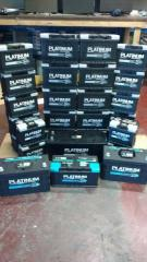 Platinum Batteries with a 2 year warranty.