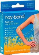 Hay-Band: Drug free hayfever treatment